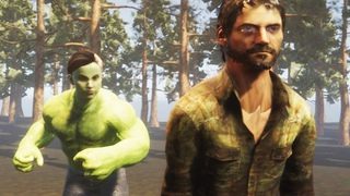 The last of us 2 She-Hulk in action
