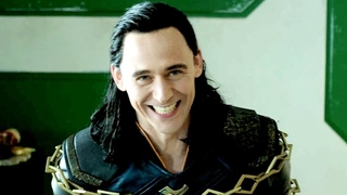 Tom Hiddleston as Loki & as Thor. Behind the Scenes