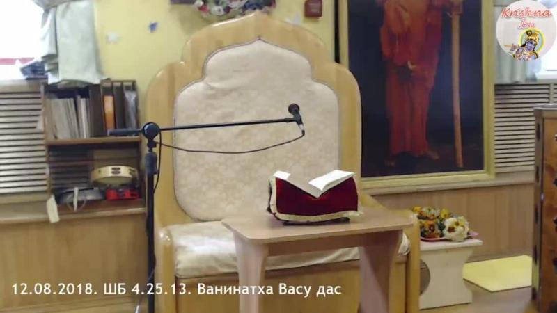 12 08 2018 ШБ 4 25 13 Ванинатха Васу дас