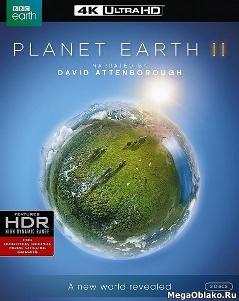 BBC. Планета Земля 2 (6 серий из 6) / Planet Earth II / 2016 / ПО, СТ / HEVC, HDR, 4K / Blu-Ray Remux (2160p)