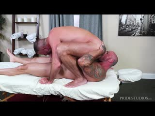 Massaged Hard - Clay Towers & Sean Duran gay porn