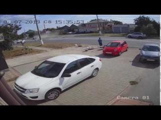 На Рабочем в столкновении двух «Toyota» погиб водитель