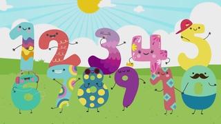 Цифры | Считаем от 1 до 10 | Песня и мультик для детей