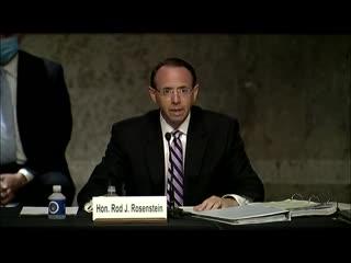 20-06-03 Rod Rosenstein testifies on origins of Russia probe before Senate