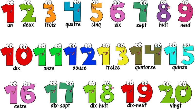 French Lesson NUMBERS 1 20 Compter jusqu'à 20 Learn French
