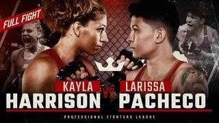 Full Fight | Kayla Harrison vs Larissa Pacheco (Lightweight Title Bout) | 2019 PFL Championship