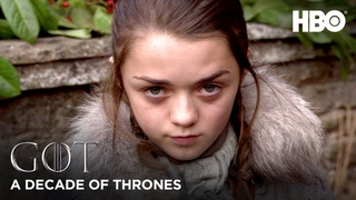 A Decade of Game of Thrones   Maisie Williams on Arya Stark (HBO)