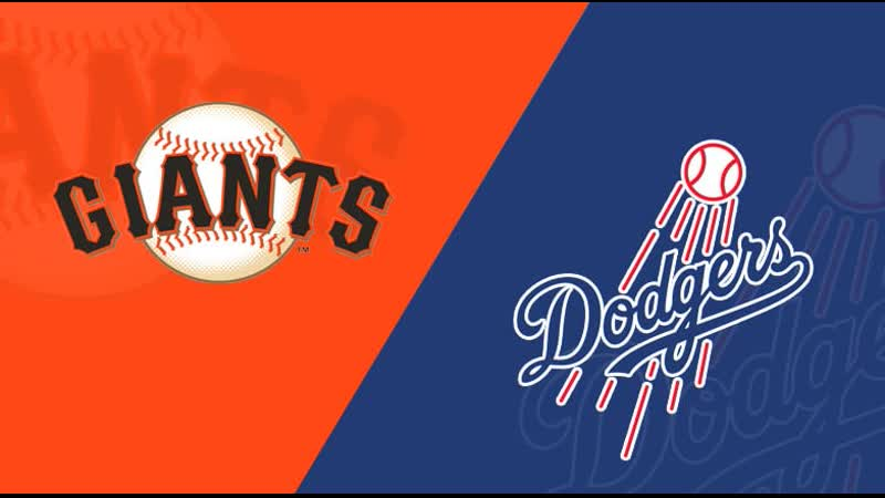 NL / 06.09.2019 / SF Giants @ LA Dodgers (1/3)