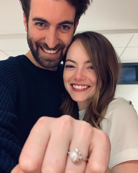 Эмма Стоун вышла замуж