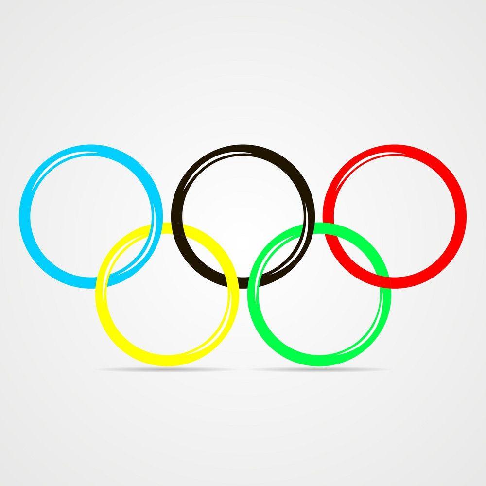 Олимпийские кольца символ