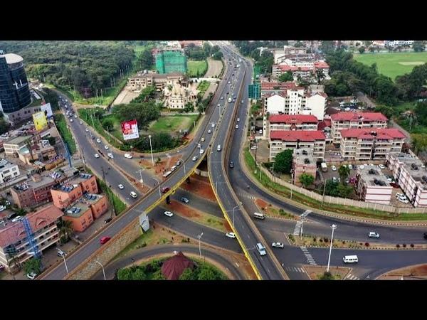 Beautiful Scenery of Parklands Area in Nairobi Kenya Westlands, Ngara, City Park Diamond Plaza