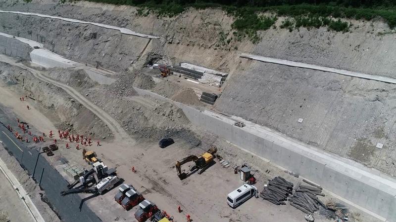 Autostrada A1 Lugoj Deva lot 4 stadiul lucrarilor la 14 iunie 2019