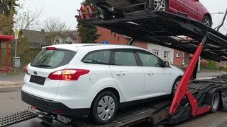 Отправляем Ford Focus 1.6 TDCi Titanium, купленный на аукционе Европы в Украину.