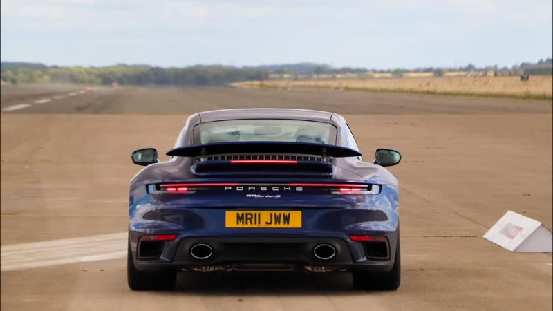 NEW Porsche 911 Turbo S 200mph FIRST DRIVE