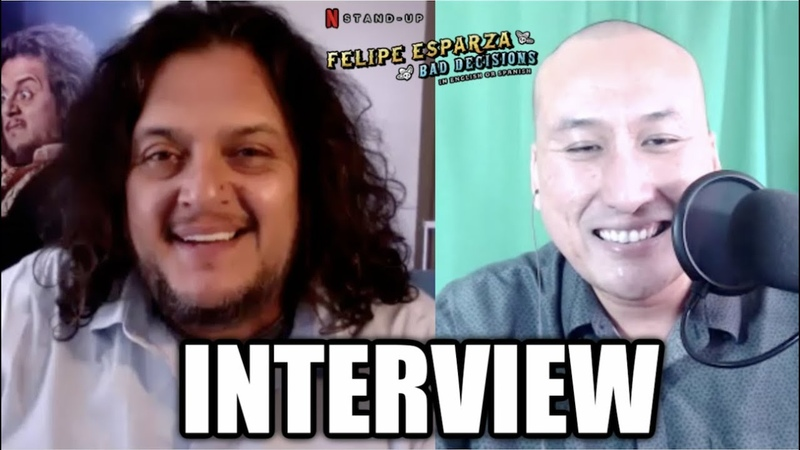 INTERVIEW Comedian Felipe Esparza on His Netflix Stand Up Special 'BAD DECISIONS'