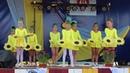 Хореографічна композиціяСоняшники м.Рава-Руська на фестивалі Забір'я скликає друзів