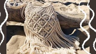 SUMMER MUST HAVE! Пляжная макраме сумка