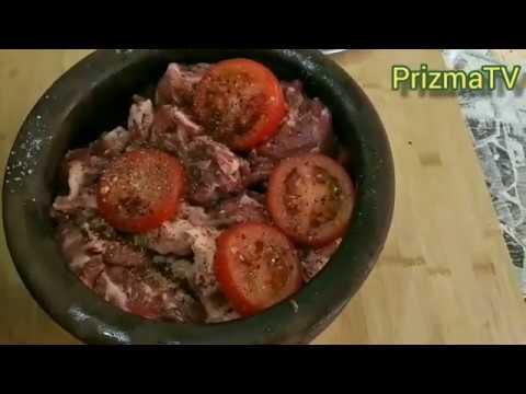 Buğlamanın hazırlanması Приготовление бугламы сочного мягкого мяса