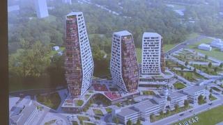 В Чебоксарах планируется строительство нового жилищного комплекса из трех высоток