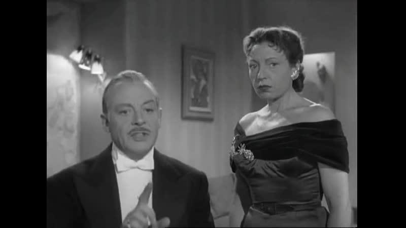 Тринадцать за столом Treize à table 1955 режиссер Андре Юнебель
