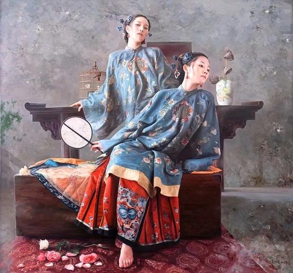 Фантазии и реалии художника Wang Ming Yue, Китай.