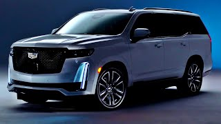 2021 Cadillac Escalade - interior Exterior and Driving (Luxury Large SUV)