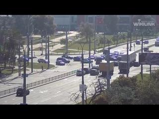 Не работал светофор. В Бресте произошло ДТП на перекрёстке улиц Пионерская-Московская