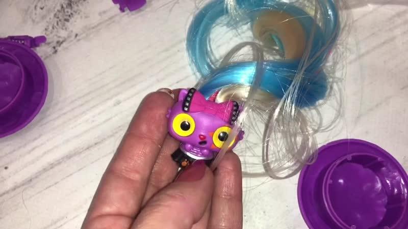 Hair PoP POP расческа кукла 3в1 НОВИНКА РАССАССКРЫЫВЕМ