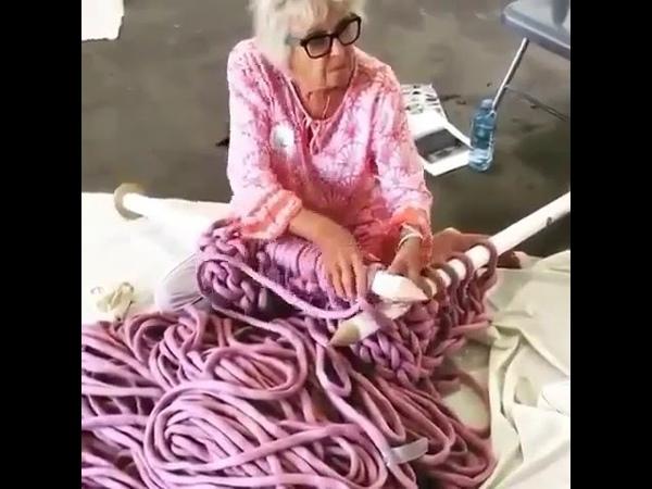 Наука и техника Когда бабуля взялась серьезно за дело 😂