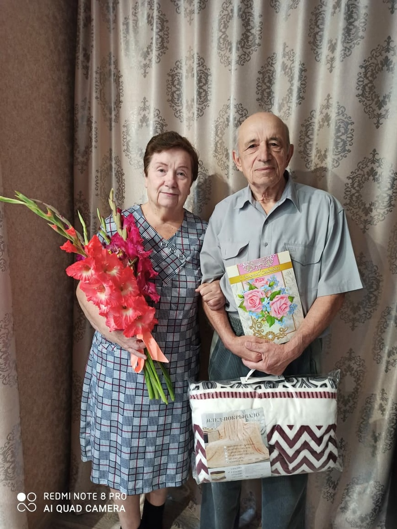 В минувшие выходные петровчане Владимир Кириллович и Нина Павловна ЛУКАШЕНКО отметили 50-летие совместной жизни