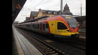 HLB FLIRTs auf dem Main-Sieg-Express (mit Flgelung und Mitfahrt)