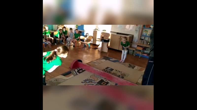 Мас рестлинг Мастер класс в детском саду