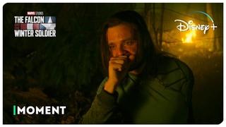 Баки освобождает свой разум (сцена в Ваканде) | Сокол и Зимний Солдат