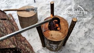 ОТОПЛЕНИЕ ПАЛАТКИ финской свечой от адвоката Егорова