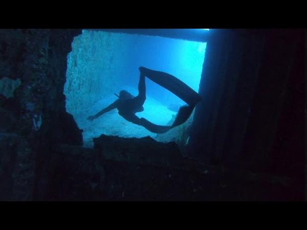 Freediving at Kaptan Ismail Hakki shipwreck Vol 1