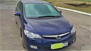 Меняем топливный фильтр в Honda Civic 8 4D