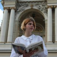 Фотография страницы Сони Климановой ВКонтакте
