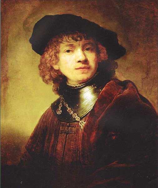 «Автопортрет», Рембрандт Харменс Ван Рейн Около 1639. Дерево, масло. Размер: 62,5x54 см. Галерея Уффици, Флоренция Рембрандт был тем художником в новой европейской живописи, кто стремился