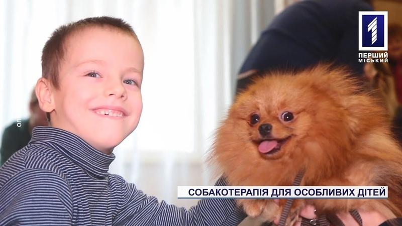 Собакотерапія для особливих дітей у Кривому Розі