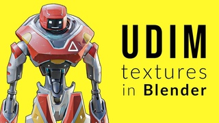 UDIM Textures in Blender : What They Are and How to Use Them