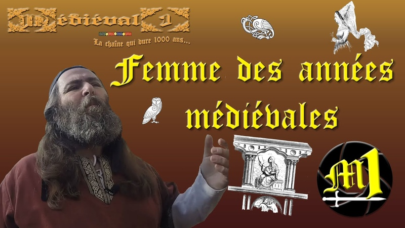Femme des années médiévales
