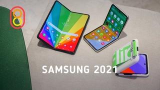 Смартфоны Samsung 2021! Обзор Galaxy Z Flip3 и Fold3