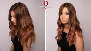 Окрашивание длинных густых волос / ШАТУШ и МЕЛИРОВАНИЕ / Урок для парикмахеров / Колористика