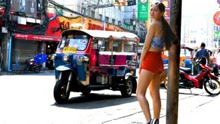 A Burmese Girl in Chinatown | Bangkok
