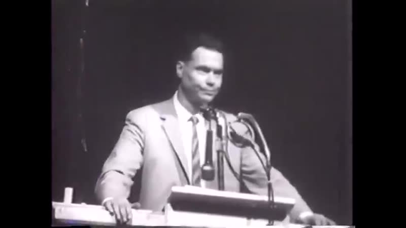 George Lincoln Rockwell VOTE WHITE Speech Bailey's Crossroads Virginia 1965