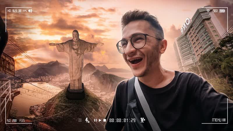 ДЖАРАХОВ Город тусовка Иисус и Преступные районы Бразилия Рио де Жанейро