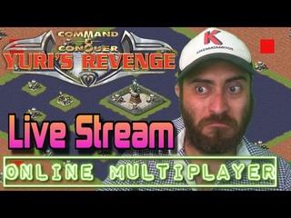Live-Stream Red Alert 2 Yuri's Revenge Online Multiplayer Games in CnCNet