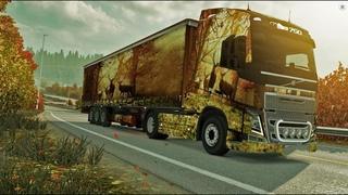 Euro Truck Simulator 2 (ETS2) - Когда деньги не проблема. Мультиплеер. TruckersMP