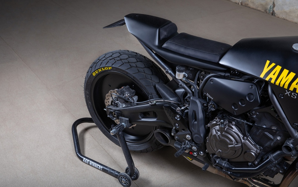 Bad Winners: кастом Yamaha XSR700 Yard Built