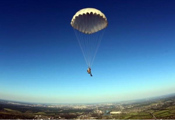 Прыжки с самолета с парашютом СПб